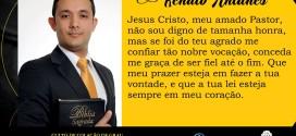 PARTICIPE DA FORMATURA DO SEMINARISTA RENATO ANTUNES!